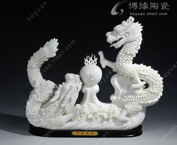工艺陶瓷  动物艺术 博缘